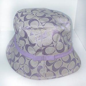 EUC Coach Signature Bucket Hat